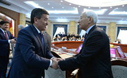 Встреча президента Сооронбая Жээнбекова с бывшими спикерами и премьер-министрами Кыргызстана