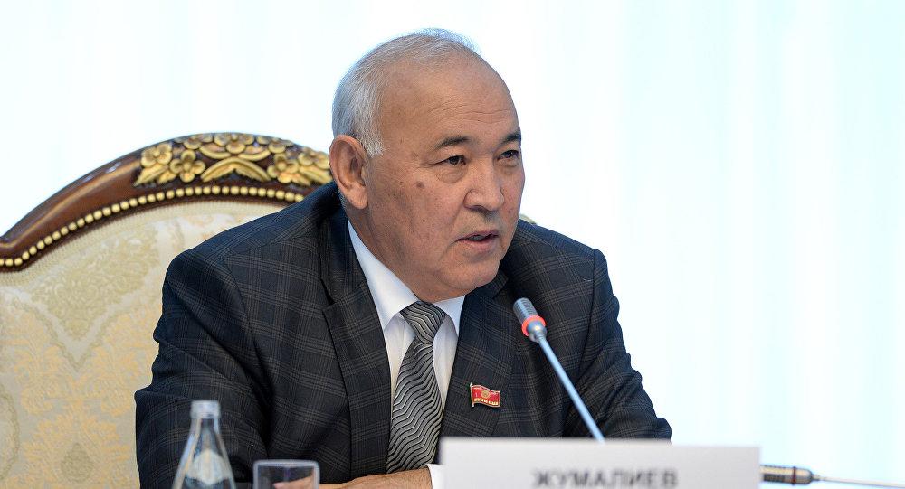 ЖК депутаты Кубанычбек Жумалиев. Архив
