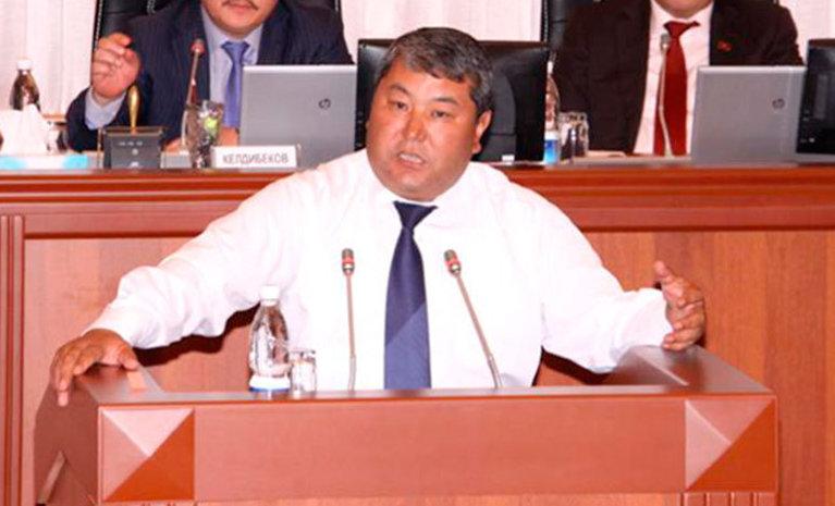 Экс-мэр города Ош Мелис Мырзакматов. Архивное фото