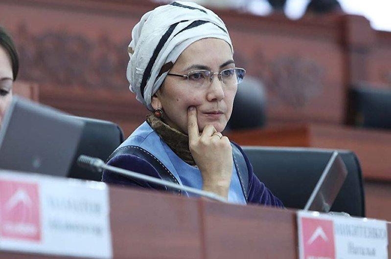 Экс-депутат ЖК Аида Салянова. Архивное фото