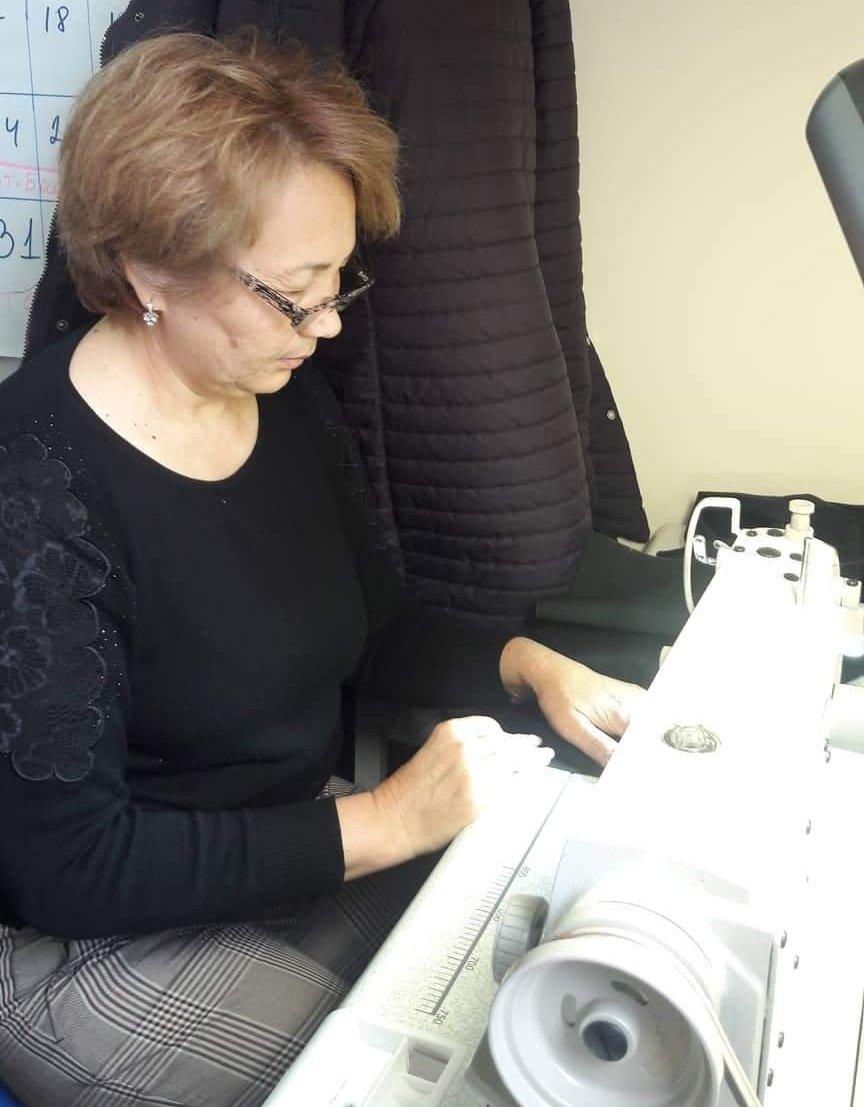 Руководитель общественного фонда Мы против рака Гульмира Абдразакова