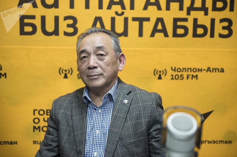 Отличник КТРК, заслуженный деятель Кыргызстана Казыбек Кененбаев