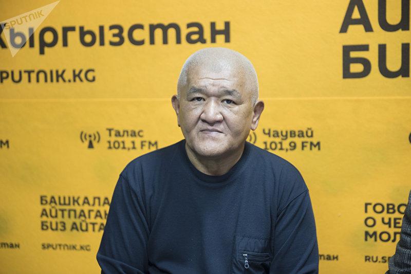 Отличник КТРК, заслуженный деятель Кыргызстана Бакыт Зарлыков