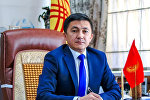 Председатель Правления Социального фонда КР Медер Ирсалиев. Архивное фото