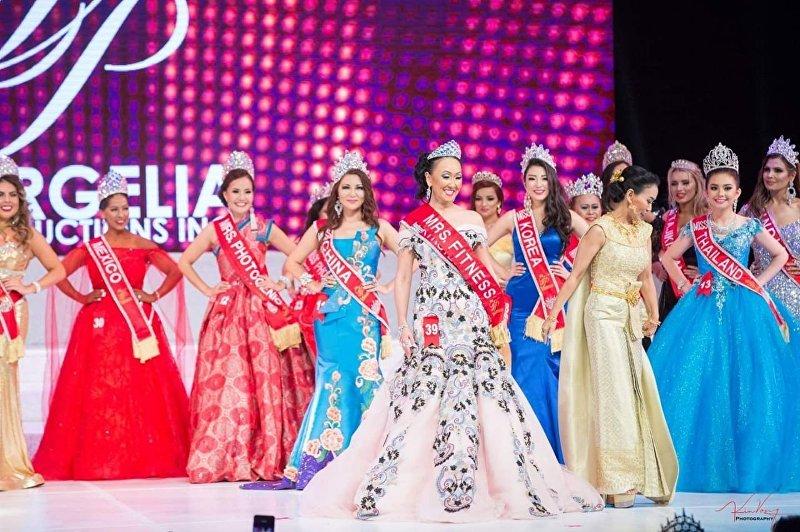 Кыргызстанка Замира Крейг стала победительницей международного конкурса Miss Asia USA 2018 в номинациях Mrs Europe Global и Mrs Fitness