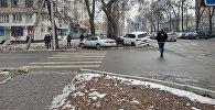 ДТП на пересечении улиц Московская и Калык Алиева