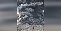 Вулкан на Курилах проснулся, когда на нем были туристы, — видео