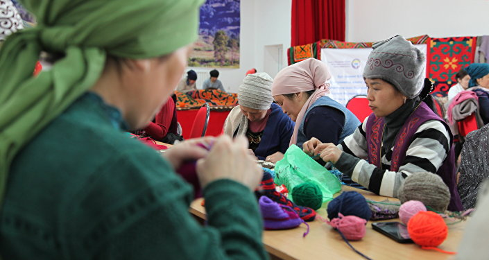 В тренинге участвуют 40 женщин — все из бедных семей, которые с трудом находят источники заработка