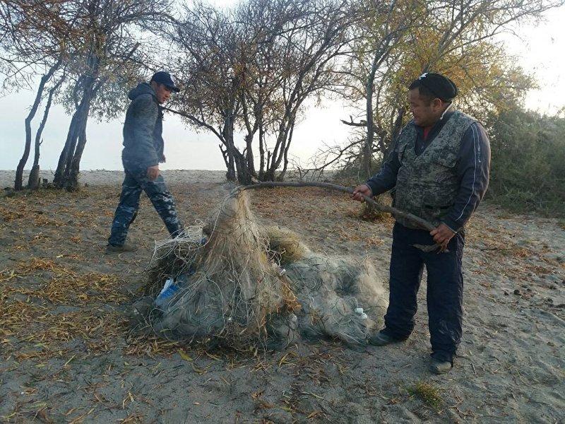 За три дня рейда в Иссык-Кульской области были составлены протоколы на семерых браконьеров