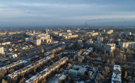 Вид на город Бишкека. Архивное фото