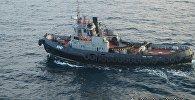Два малых бронированных артиллерийских катера и рейдовый буксир ВМС Украины. Архивное фото