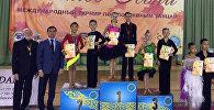 Кыргызстанцы заняли первое место на международном турнире по спортивным танцам среди подростков Осенний вальс — 2018