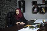 100 жана 1 элечекчен айым долбоорунун автору, актриса Айжан Акылбекова
