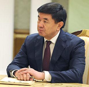 Премьер-министр Кыргызской Республики Мухаммедкалый Абылгазиев на Евразийском межправительственном совете в Минске