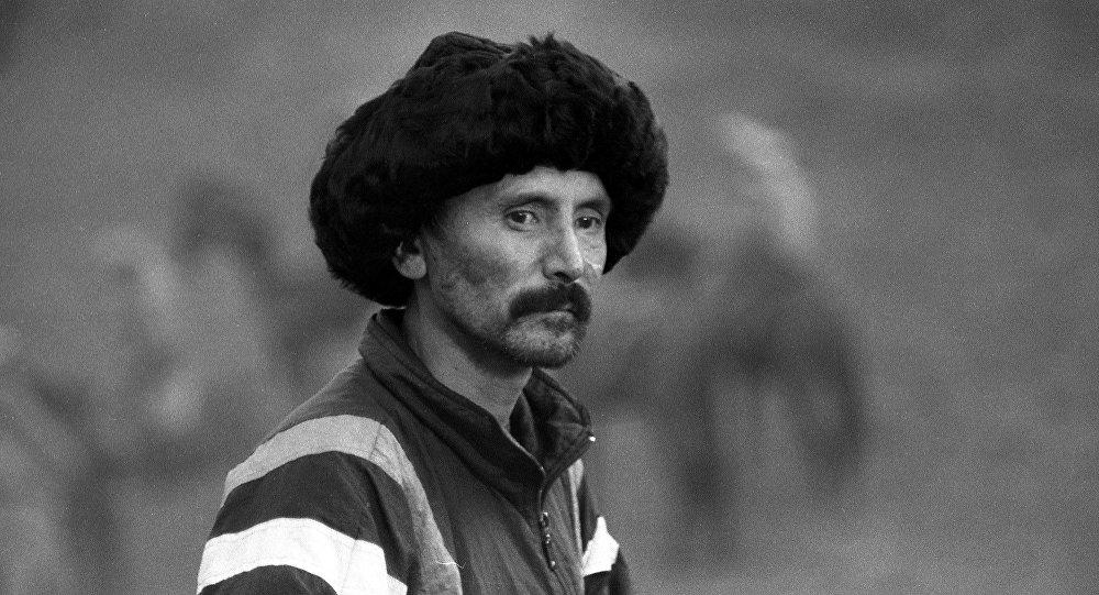 Кыргызский кскадер Усен Кудайбергенов. Архивное фото