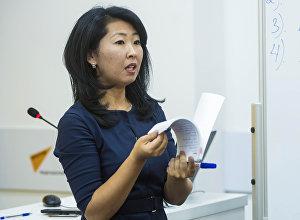 Sputnik Кыргызстан маалымат агенттиги менен радиосунун жооптуу редактору Канышай Бешбаева