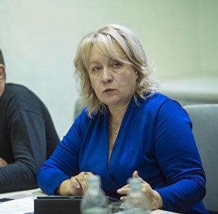 Руководитель международного информационного агентства и радио Sputnik Кыргызстан Елена Череменина выступила на Бишкекском экономическом форуме имени Джумакадыра Акенеева Актуальные вопросы евразийской интеграции: глобальный и региональный аспект.