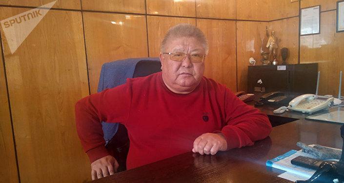 Генеральный директор Кыргызского государственного цирка Курмангазы Исанаев. Архивное фото