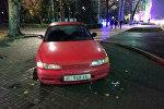 Неправильная парковка машин в Бишкеке