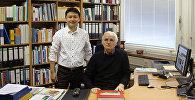 Эколог Максат Анарбаев, учащийся в Берлине