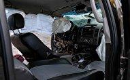 Автомобиль поврежденный в ДТП. Архивное фото
