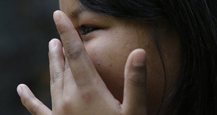 Девочка стала жертвой сексуального насилия. Архивное фото