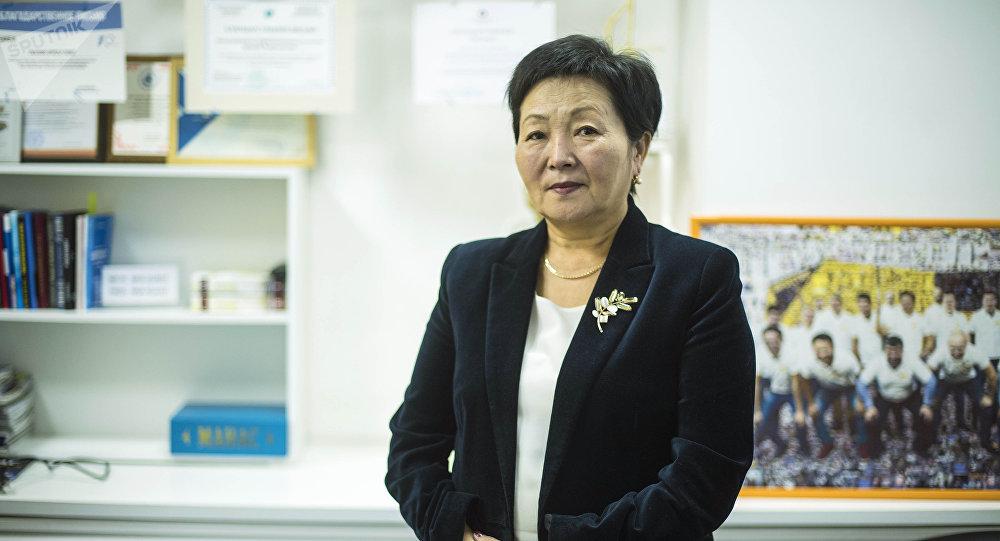 Республикалык СПИД борборунун жетекчиси Үмүткан Чокморова