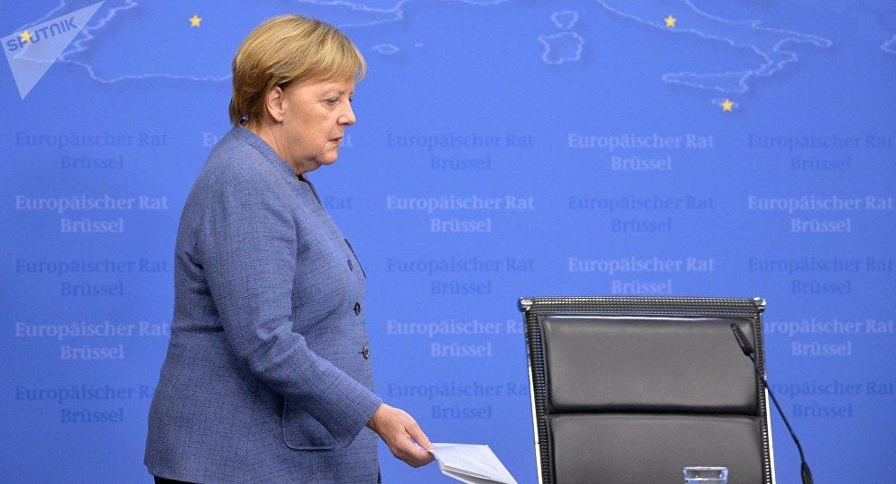 Германия канцлери Ангела Меркель. Архивдик сүрөт