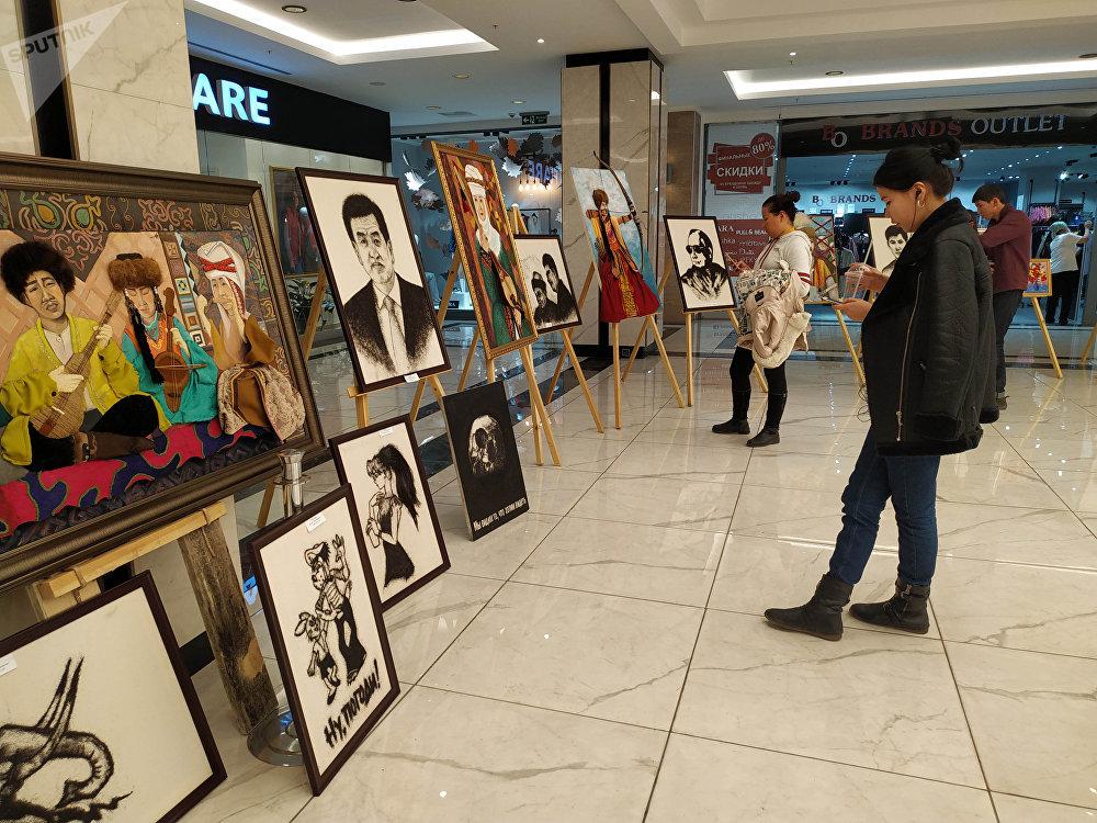 Открытие выставки состоялось 30 ноября, работать она будет до 3 декабря
