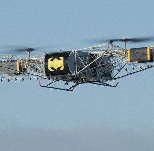 Создан грузовой дрон — летает быстро и высоко, поднимает до 350 кг. Видео