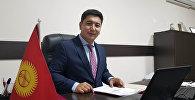 Директор департамента при Министерстве культуры Максат Дамир уулу. Архивное фото