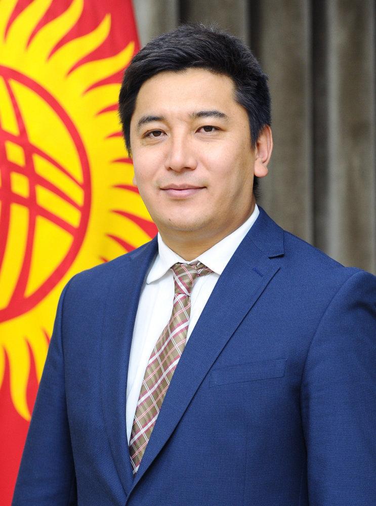 Директор департамента при Министерстве культуры КР Максат Дамир уулу
