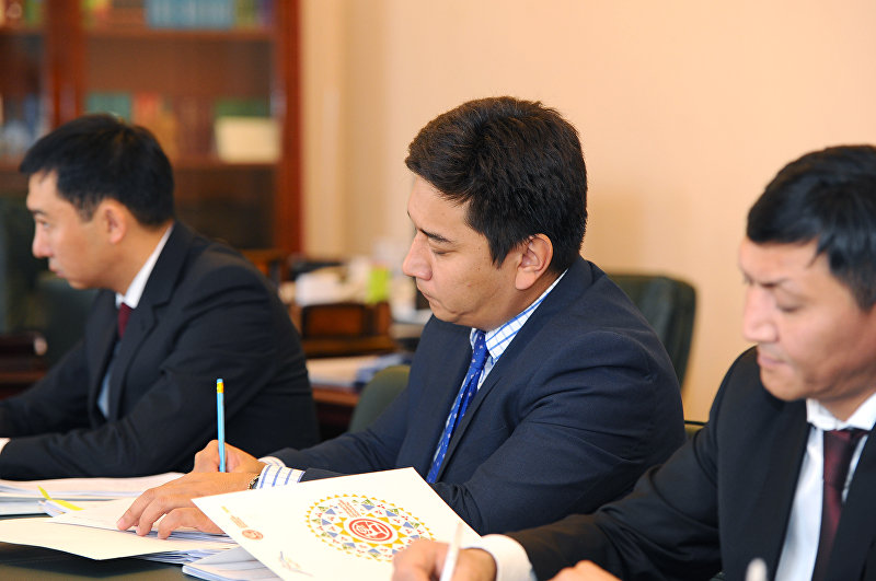 Директор департамента при Министерстве культуры Максат Дамир уулу