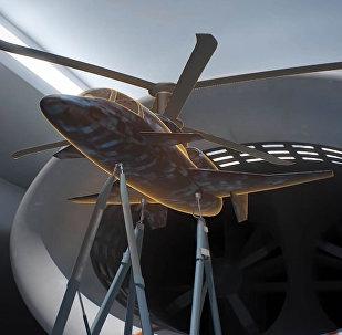 Концепт уникального сверхскоростного вертолета показали на видео