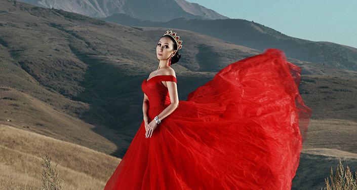 Победительница в двух номинациях в международном конкурсе Miss Asia USA 2018 Замира Крейг. Архивное фото