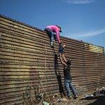 Ситуация с мигрантами на границе Мексики и США
