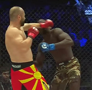Македонcкий боец нокаутировал француза за 8 секунд — впечатляющее видео