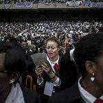 Инаугурация Архиепископ Киншасы в Демократической Республике Конго
