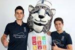 Хоккей боюнча Кыргызстандын жаштар курама командасы