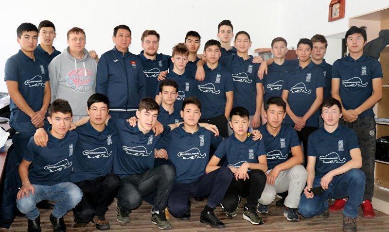 Молодежная сборная Кыргызстана по хоккею