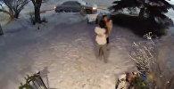 Семья босиком выбежала на мороз — пугающее видео землетрясения на Аляске