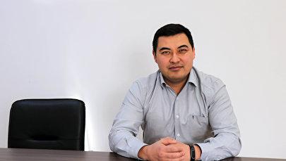 Руководитель управления карт и дистанционных банковских услуг одного из банков КР Эрмек Уманкулов