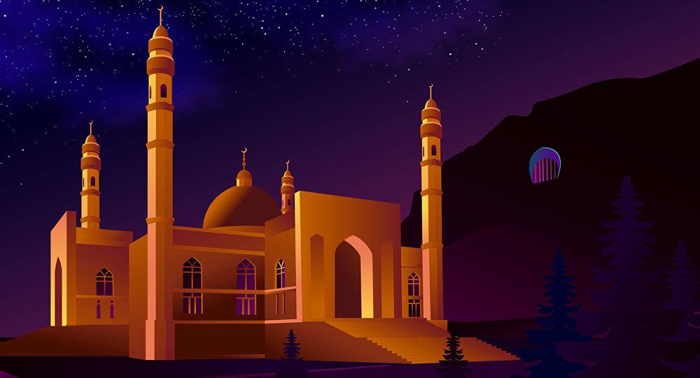 Сулайман-Тоонун жанына салынган мечит