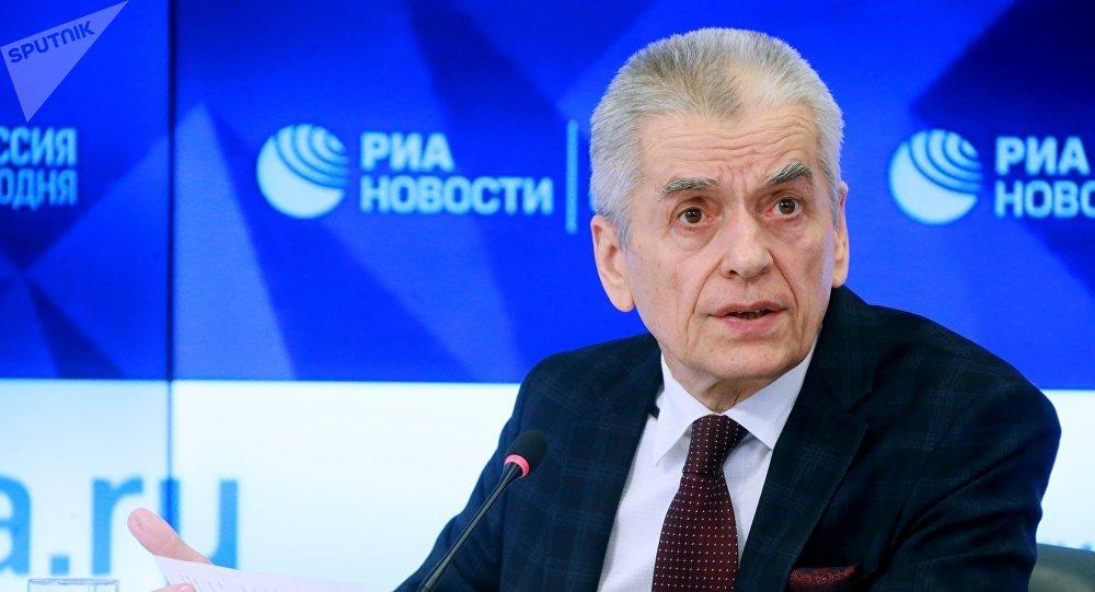 Врач-эпидемиолог, депутат Государственной думы России Геннадий Онищенко. Архивное фото