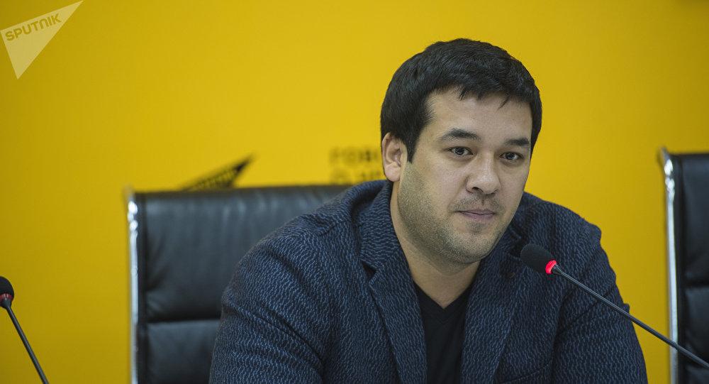 Узбекский актер, исполнитель одной из главных ролей в фильме Делбирим Улугбек Кадыров