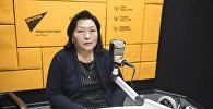 Начальник управления градостроительства и архитектуры муниципального предприятия Бишкекглавархитектура Замира Кангельдиева