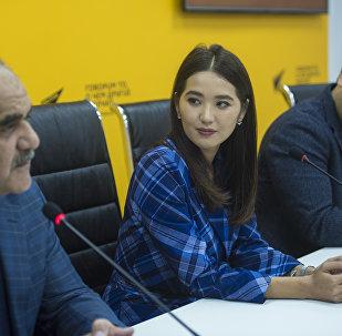 Пресс-конференция перед премьерой кыргызско-узбекского фильма Делбирим