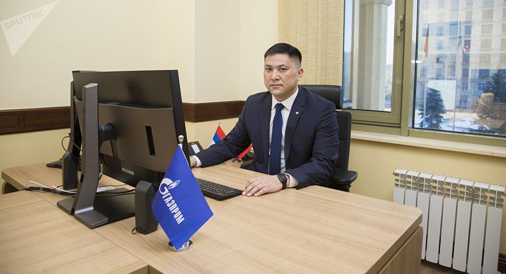 Начальник производственно-диспетчерской службы Газпром Кыргызстан Надырбай Турдуматов