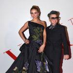 Олимпийская чемпионка по фигурному катанию Татьяна Навка и модельер Валентин Юдашкин