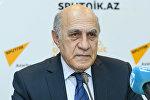 Азербайджанский политолог Фикрет Садыхов. Архивное фото